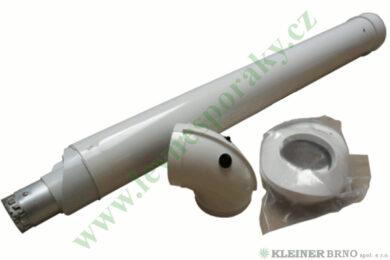 Sada horizontálního odkouření pro aqua comfort TURBO pr. 60/100, délka 0,75 m(115-0055)