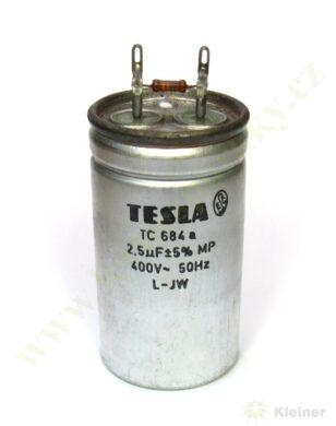 Kondenzátor rozběh. 2,5uF čerpadla NTR ( zrušeno bez náhrady )(12326)