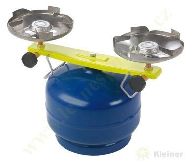 Vařič plynový 2-hořákový MEVA PICAMP přímotlaký 2136(2136)
