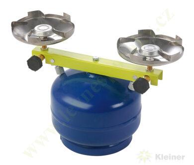 Vařič plynový 2-hořákový MEVA TÁBORÁK přímotlaký 2137(2137)