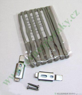 Těsnění plastické + 2 sponky a 2 šrouby 4100,4160 ( shodné s 813833 )(813846)