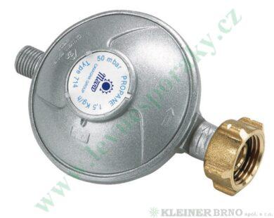 "Regulátor tlaku propan-butan ( PB ) 50 mbar, výst. G1/4""L MEVA NP01035(NP01035)"