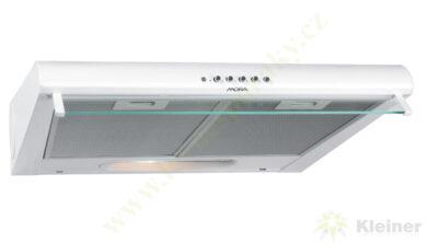 MORA OP 640 W PREMIUM - odsavač par pod skříňku, š=60 cm, bílá(OP640W)