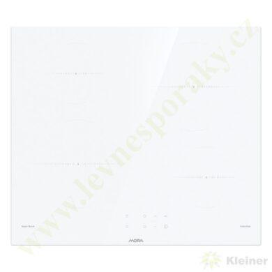MORA VDIT 651 CW PREMIUM - indukční vest. varná deska, bílá -broušené hrany(VDIT651CW)