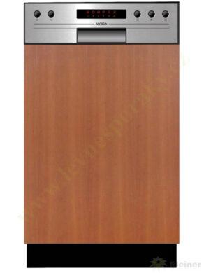 MORA VM 533 X - myčka vestavná 45 cm, nerez panel A++, A, A(VM533X)