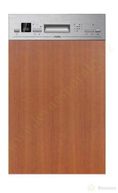 MORA VM 540 X PREMIUM - myčka vestavná 45 cm, nerez panel A++, A, A(VM540X)
