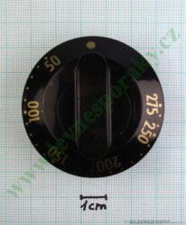 Knoflík termostatu hnědý VT06