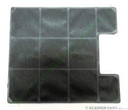 Filtr uhlíkový k IDR 4545 E, DKG 9545 E ( shodné s UF 220 x 225 ) 228x202x10 mm