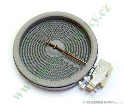 Těleso topné sálavé 140 mm, 1200W ( shodné s 479939, 553893, 607616 )-EGO 10.54114.704