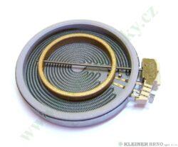 Těleso topné sálavé 180/120, 1700/700W ECT - S/2/230V ( shodné s 651617 )-EGO 10.58214.079