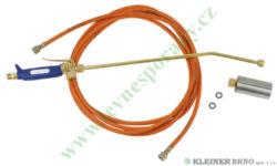 Hořák, set 25 kW -  MEVA 2273-Maximální teplota hoření cca 1415 °C