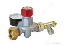 Regulátor tlaku propan-butan ( PB ) 0,5-4 bar, 10 kg/h, výst. G3/8L MEVA 4498