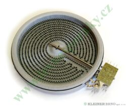 Těleso topné sálavé 180, 1800W HEC 797 ( shodné s 225841, 815372 )-EGO 10.58113.004