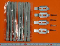 Těsnění plastické + 4 sponky a 4 šrouby 4200-60 ( shodné s 813846 )