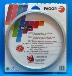 Těsnění pro tlakové hrnce FAGOR průměr 25 cm od objemu 8 litrů ( za M18804555 )