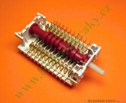 Přepínač trouby 9F. 11HE-124  5H, 6H-196 X, 200-Tento náhradní díl je určen na níže uvedené výrobky. Seznam je pouze orientační, protože během výroby mohlo být na jednom výrobku použito několik různých nekompatibilních dílů se stejným určením. V závorce uváděný údaj je codigo ( označení výrobku pro servis ).  EDESA HE-160 B (901272484) HE-160 N (901272493) HE-160 X (901272509) HE-170 B (901272527) HE-170 N (901272536) HE-170 X (901272545) HE-180X (901272554) HEC-160 X (901272929) HER-170 N (901272518) METAL-H160 X (901270002) METAL-H180X (901273125) PLAT-H160X S (901270007) POP-H170 X (901273116) ROMAN-H160 X (901273232) SPORT-H160 X (901273090)