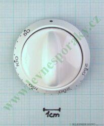 Knoflík termostatu 4CF-56 MB bílý