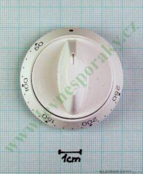 Knoflík termostatu hranatý bílý KGE 3468 B DYN ( zrušeno bez náhrady )