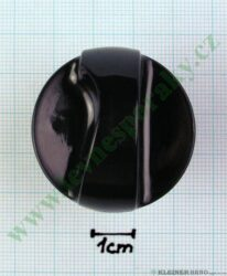 Knoflík ovládací tmavý ( za C18A000A0 )
