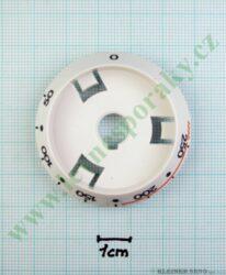 Podložka termostatu bílá ( zrušeno bez náhrady )