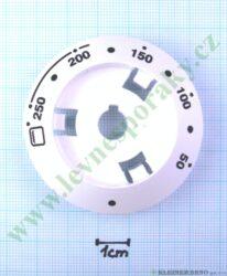 Podložka pod knoflík termostatu B bílá v=16 mm ( zrušeno bez náhrady )