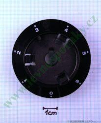 Podložka pod knoflík elektrika 0-6 N tmavá v=20 mm ( zrušeno bez náhrady )