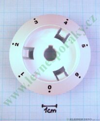 Podložka pod knoflík elektrika 0-6 B bílá v=20 mm