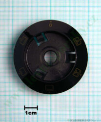 Podložka pod knoflík funkce 0+5F N Epoca tmavá v=20 mm ( zrušeno bez náhrady )