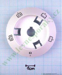 Podložka pod knoflík funkce 0+4F B bílá v=16 mm ( zrušeno bez náhrady )