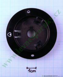Podložka pod knoflík plyn bez zapal. N tmavá v=16 mm