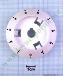 Podložka pod knoflík indukce 0-9-P B bílá v=20 mm