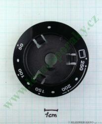 Podložka pod knoflík termostatu N tmavá v=20 mm ( zrušeno bez náhrady )