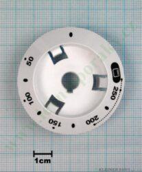 Podložka knoflíku termostatu 1H... bílá v=20 mm ( zrušeno bez náhrady )
