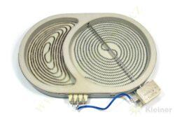 Hnízdo dvojité 2300-1500W VFT-750 S (oval) ( zrušeno bez náhrady )