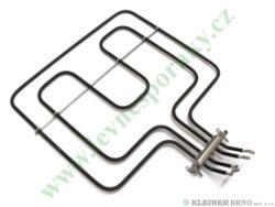 Těleso topné horní 1200W/1400W, 230V 5H, 6H-185-835 - výklopné do 10.6.2011-Tento náhradní díl je určen  na níže uvedené výrobky. Seznam je pouze orientační, protože během výroby mohlo být na jednom výrobku použito několik různých nekompatibilních dílů se stejným určením. V závorce uváděný údaj je codigo ( označení výrobku pro servis ).  DE DIETRICH DOE-545BD1 (901580025) DOE-545WD1 (901580016) DOE-545XD1 (901580034)  EDESA HE-180X (901272554) METAL-H180X (901273125)