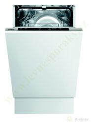MORA IM 565 PREMIUM - myčka vestavná 45 cm, plně integrovaná-Vestavná integrovaná myčka o šířce 45 cm,