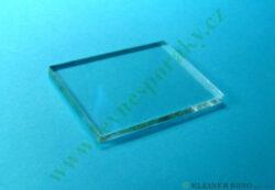 Průzor-sklo 55x40x4