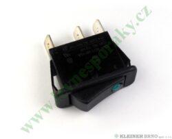Hlavní vypínač-zelená kontrolka BETA Electronic, Comfort do 10/2004