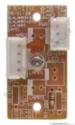Panel osvětlení ( tištěný spoj ) KVI-21 B