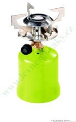 Vařič plynový 1-hořákový kovové tělo MEVA FOCUS KP06010-Vařič FOCUS na propan - butan