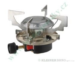 Vařič plynový 1-hořákový MEVA ATOS piezo KP06011P-Vařič ATOS na propan - butan piezo