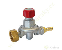 """Regulátor tlaku propan-butan ( PB ) 0,5-4 bar, 10 kg/h, výst. G3/8""""L MEVA NP0101"""