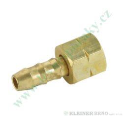 Nátrubek 8 mm s maticí G1/4L MEVA NP01015
