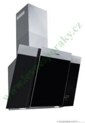 MORA OV 680 GX - odsavač par komínový, š=60 cm, nerez / černé sklo-Odsavač par komínový o šířce 60 cm