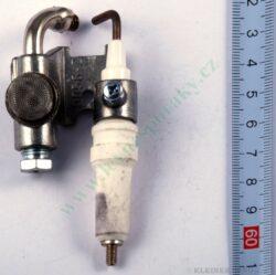 Hořák zapalovací s elektrodou ZP  408 ( shodné s T11676+T12113 )