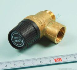 Ventil pojistný 2,5 baru ( 3 bary ) vnitřní / vnější