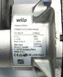 Čerpadlo OTMA EU HELIOS 18SK, 24SK(T56185)