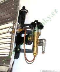 Topidlo 4,3 kW MEVA BRI s PIEZO zapalováním TB01005P(TB01005P)