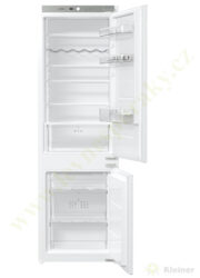 MORA VCN 1821 PREMIUM - chladnička vestavná, dvoudvéřová, 180/68 litrů A++-Chladnička vestavná v=1775 mm, A++, 39dB, 1 kompresor