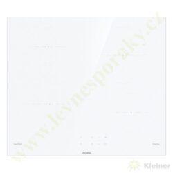MORA VDIT 651 CW PREMIUM - indukční vest. varná deska, bílá -broušené hrany-Indukční vestavná sklokeramická deska, broušené hrany, BÍLÁ